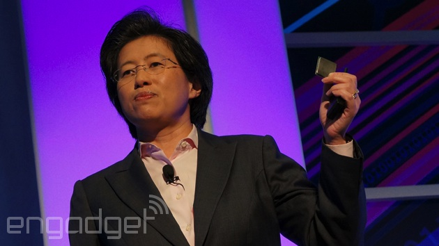 AMD CEO (then COO) Lisa Su at an event in May 2013