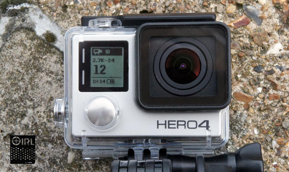 Quando si tratta di nuova macchina fotografica Hero4 di GoPro, largento è il nuovo nero