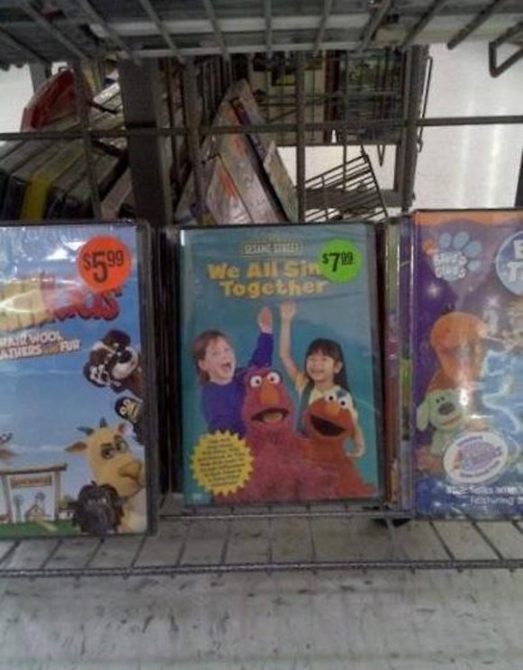 Poorly Placed Stickers