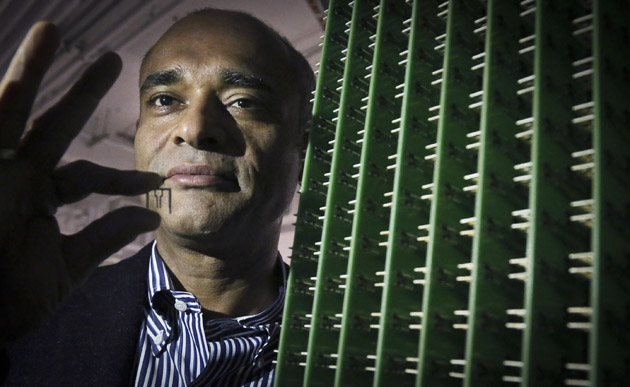 Aereo CEO and antennas