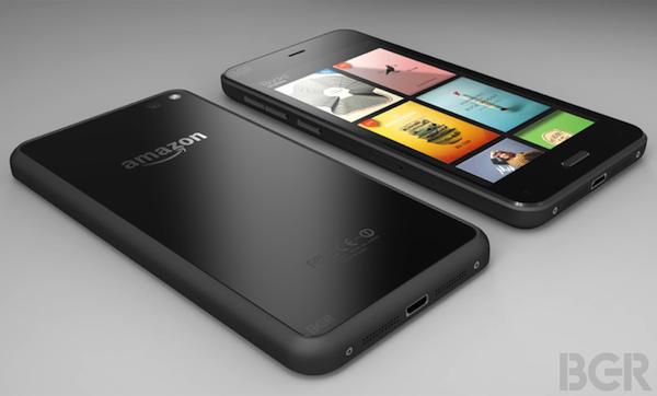 Así sería el teléfono de Amazon