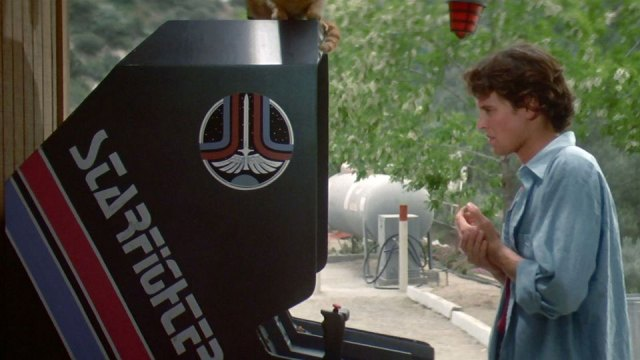 The arcade cabinet in 'The Last Starfighter'
