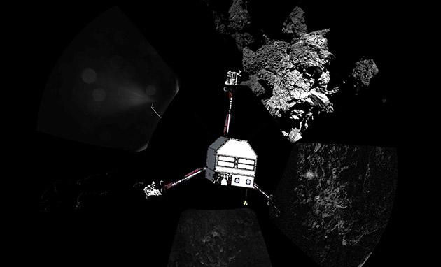 Sogni dolci, Philae: Il lander del SEC va a dormire in assenza di luce solare