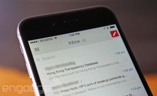 Gmail che ritorna lentamente alla vita in Cina