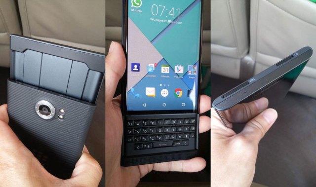 BlackBerry Venice in the flesh