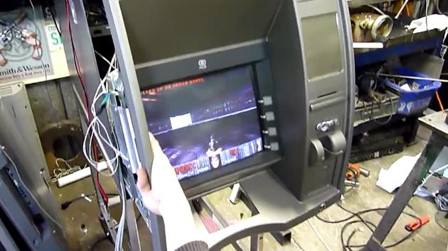 Doom on an ATM