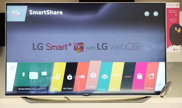 il webOS 2,0 renderà le TV astute del LG molto più veloci lanno prossimo