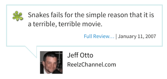worst rotten tomatoes reviews, most rotten reviews from rotten tomatoes, snakes on a plane