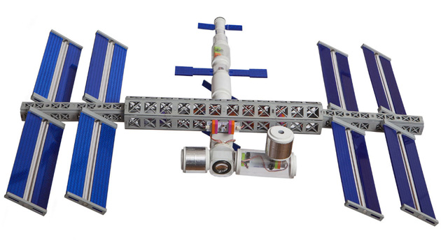 The LittleBits Space Kit's International Space Station