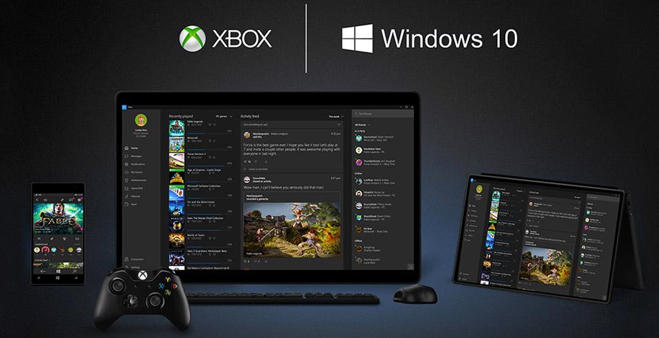 Microsoft Xbox One Windows 10