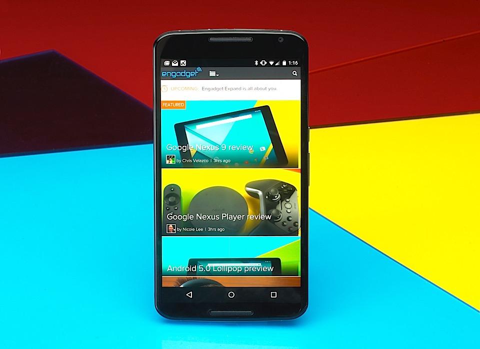 Rassegna di nesso 6: Manifestazioni di Google può fare un telefono dello grande schermo