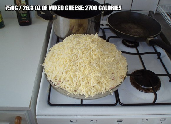 Pizza, 8789 Calorie Pizza