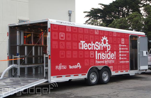 Linterno di TechShop è una classe moderna del negozio sulle ruote