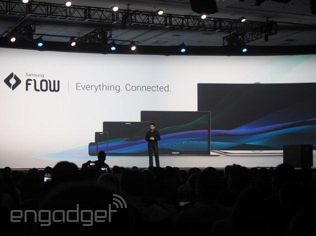"""""""Il flusso"""" di Samsung lega insieme i dispositivi come la continuità di Apple"""