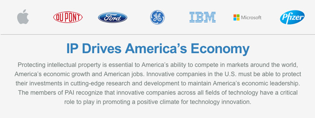 Partner for American Innovation's members and message