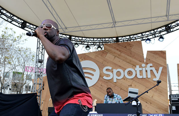 Wyclef Jean performs at a Spotify concert for SXSW