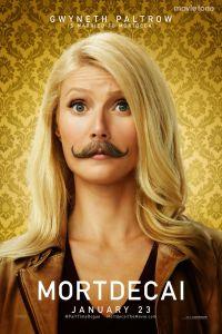 Gwyneth Paltrow is getrouwd met Mortdecai poster