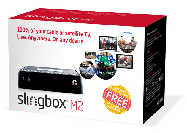 Slingbox M2 bundle packaging