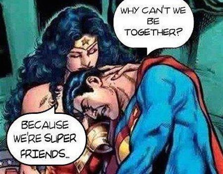 superheroes being aholes, wonder woman v superman