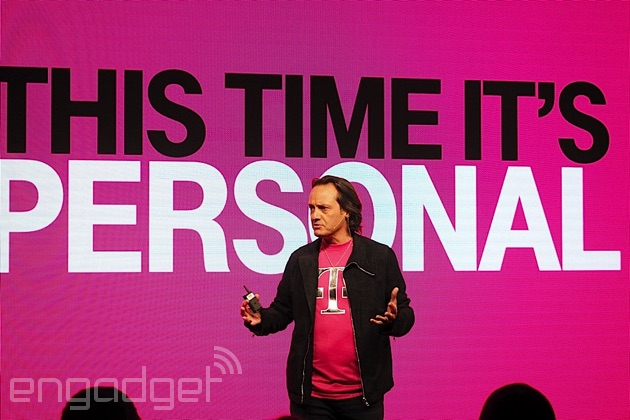 T-Mobile's John Legere makes it personal