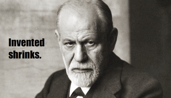 one-line summaries famous historical figures, sigmund freud