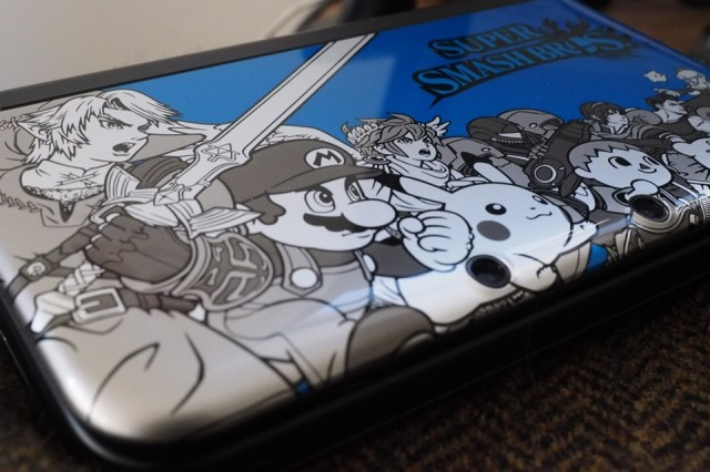 Smash Bros.-themed 3DS XL