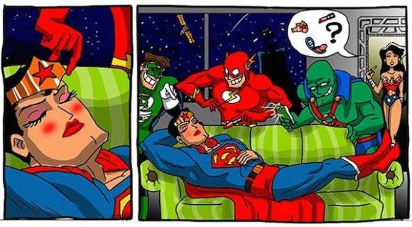 superheroes being aholes, justice league v superman