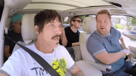 So The Chili Peppers' Anthony Kiedis Saved A Baby's Life While Filming Carpool Karaoke