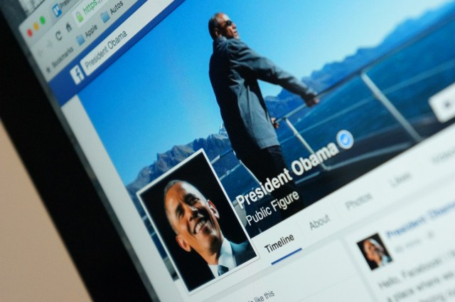 The President's Facebook page