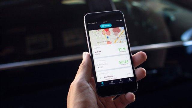 Uber's Partner app for drivers