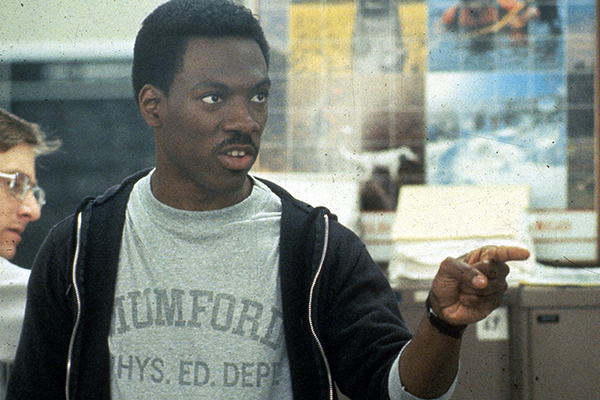 MENS Memorable Shirts 06 Photofest 06 BHC EddieMurphy3 The 25 Most Memorable Movie T Shirts