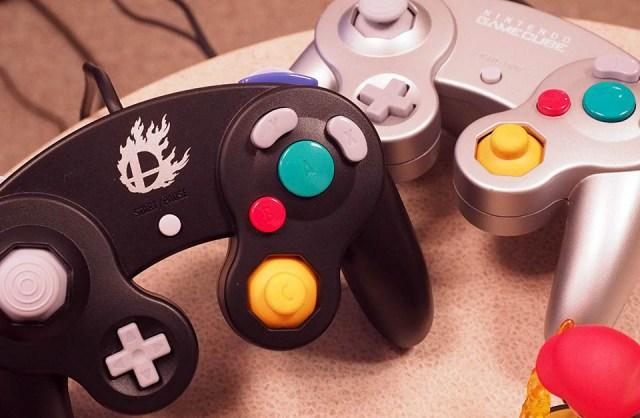 Re-released GameCube gamepad for Wii U