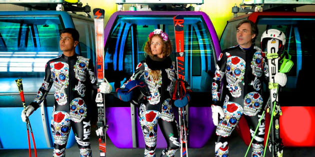 Jeux olympiques d'hiver 2018: difficile de rater les skieurs alpins mexicains à Pyeongchang