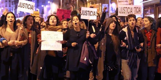 Concentración en Madrid contra los