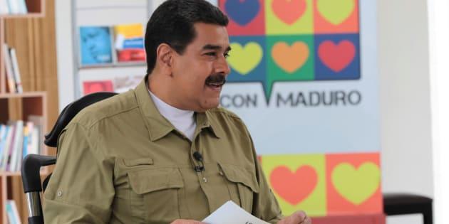 Imagen de fichero del presidenta venezolano Nicolas Maduro.