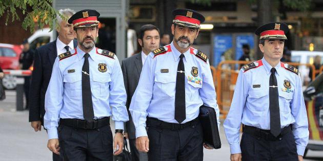 El jefa de los Mossos d'Esquadra, Josep Lluis Trapero.