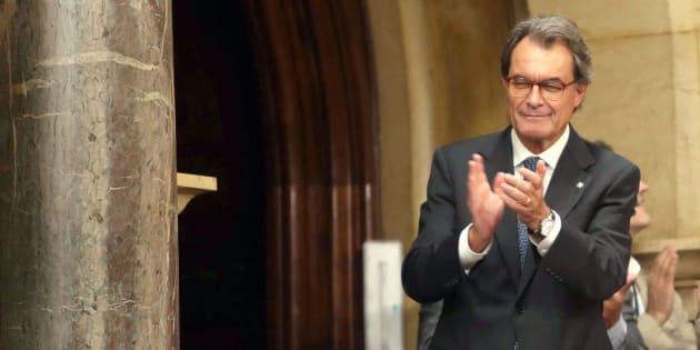 Imagen de fichero del expresidente de la Generalitat, Artur Mas.