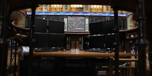 Imagen de fichero de la Bolsa de Madrid.