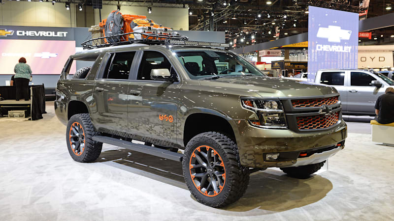 Luke Bryan Chevy Suburban Is A Rolling Hunting Blind