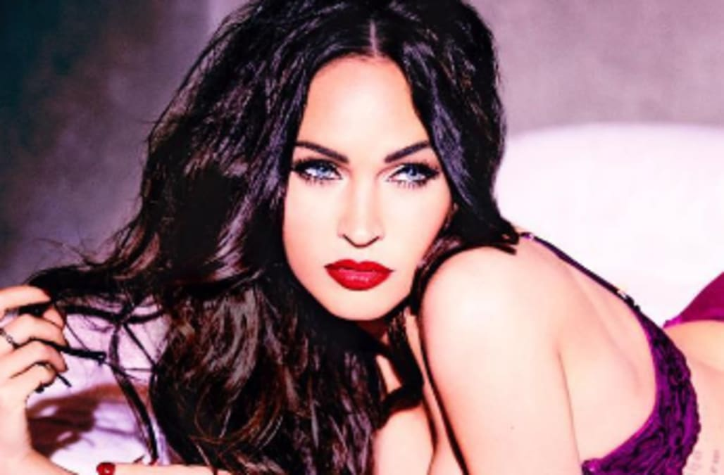Megan Fox Models Lingerie Announces Shes Launching A Personal Collection