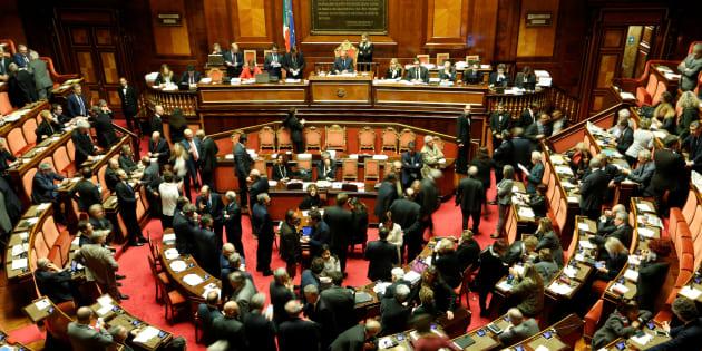 Le Sénat à Rome, en décembre 2016.