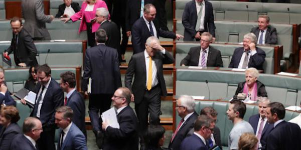 Just Another Day Of Australia's Parliament Descending Into ...