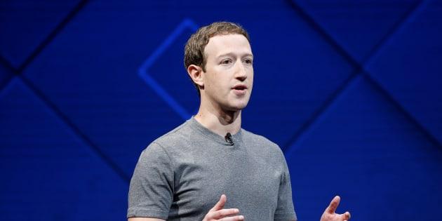 Mark Zuckerberg à San José le 18 avril 2017.
