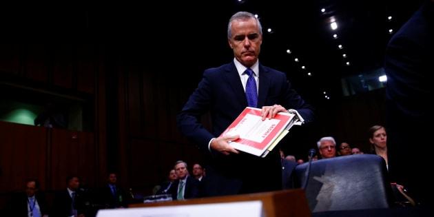 Andrew McCabe, numéro 2 du FBI et cible régulière de Donald Trump, démissionne