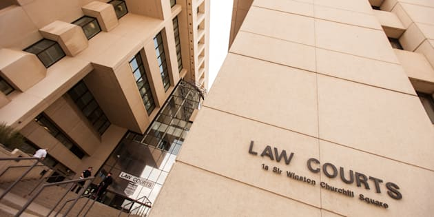 Courts in downtown Edmonton on June 18, 2015. Alberta Mounties have laid charges against relatives of a four-year-old girl, alleging they neglected her after once becoming her legal guardians.