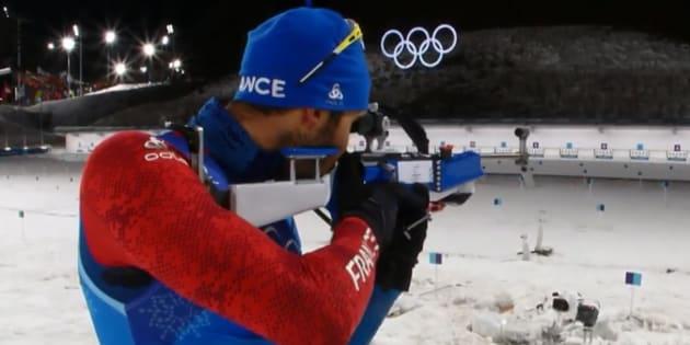 Jeux olympiques d'hiver 2018: Martin Fourcade et l'équipe de France décrochent l'or au relais mixte