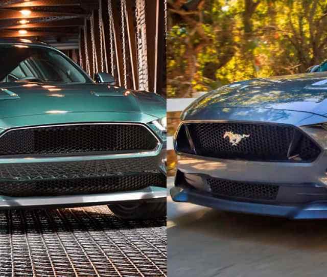 Ford Bullitt Mustang Vs Mustang Gt Comparison Of Power Performance Autoblog