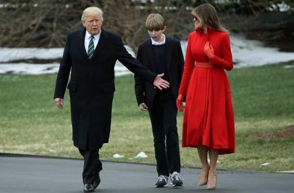 Melania Trump, Barron Trump moving to White House in June ...