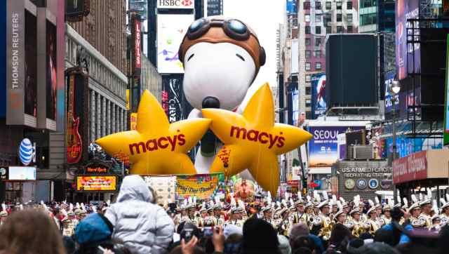 Resultado de imagen de thanksgiving macy's parade
