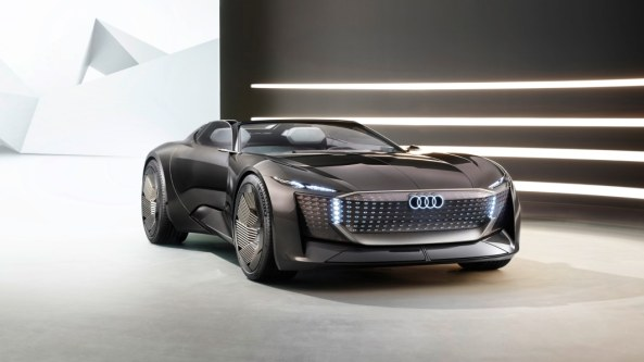 Audi SkySphere can change its wheelbase at the push of a button